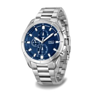Men's Stainless Steel  Chronograph Bracelet Watch 37ESQ013001A