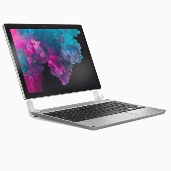 Aluminium Bluetooth Keyboard for Microsoft Surface Pro, Surface Pro 3 & Surface Pro 4 BRY7001