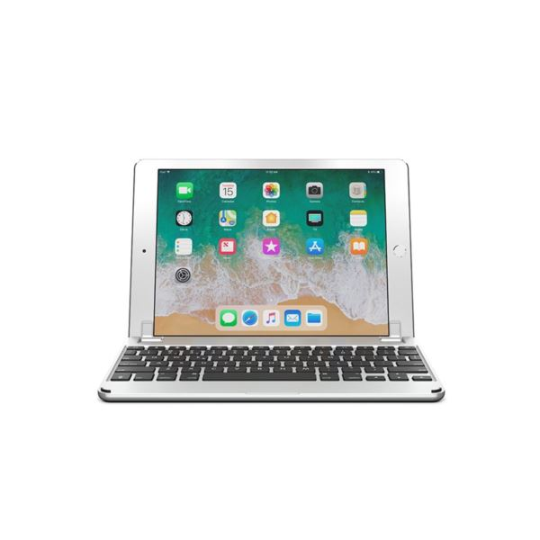 Brydge 9.7 Wireless Keyboard for use with IPAD (Silver) BRY1011