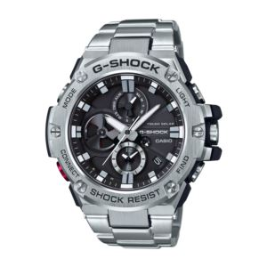 Men's G-Shock Solar Watch - Stainless Steel/Black GSTB100D-1A
