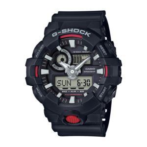 Men's G-Shock Watch - Black/Red GA700-1A