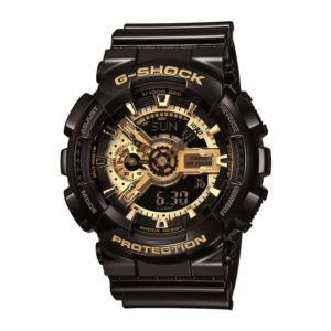 Men's G-Shock Watch - Black/Gold GA110GB-1A