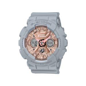 Women's G-Shock Watch - Grey/Rose Gold GMAS120MF-8A