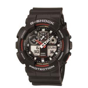 Men's G-Shock Watch - Black/Red GA100-1A4