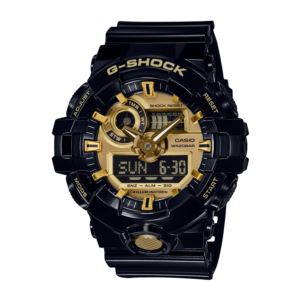 Men's G-Shock Watch - Black/Gold GA710GB-1A