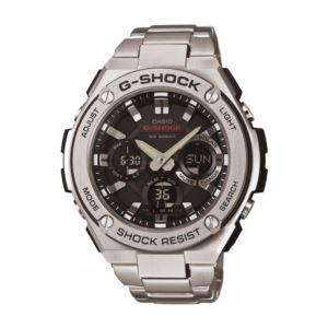 Men's G-Shock Solar Watch - Stainless Steel/Black GSTS110D-1A