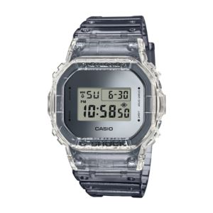 Men's G-Shock Watch - Transparent Resin DW5600SK-1