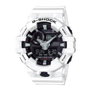Men's G-Shock Watch - Black/White GA700-7A