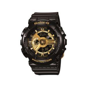 Women's Baby-G Watch - Black/Gold BA110-1A