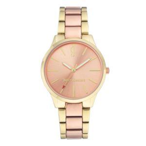 Women's Gold and Rose-Gold Bracelet Watch HSN-JC/1058RGTT