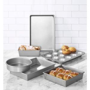 Commercial II Non-Stick 6-Piece Bakeware Set - Silver CM-5229028