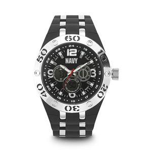 Men's U.S. Navy Black Dial Watch WA-37400008