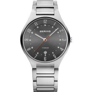 Men's Titanium Brushed Silver Watch 11739-772