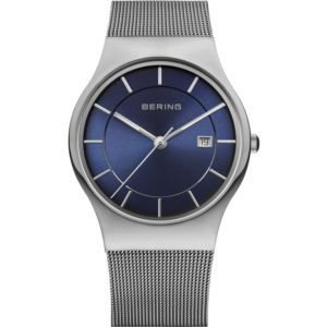 Men's Classic Brushed Silver Watch 11938-003