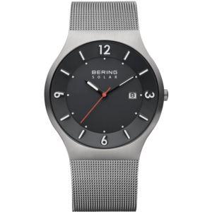 Men's Solar Brushed Grey Watch 14440-077