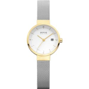 Women's Solar Polished Gold Watch 14426-010
