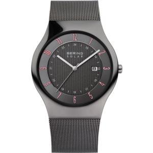 Men's Solar Polished Grey Watch 14640-077