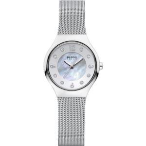 Women's Solar Polished Silver Watch 14427-004