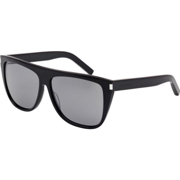 Women's SL1 Black/Grey Mirrored Sunglasses SL1-001