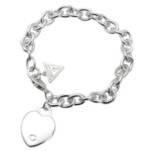 Classic Heart Charm Bracelet - Silver GJ-86108442