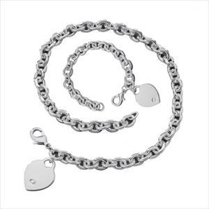 Heart Tag Jewelry Set GJ-TAG-SET