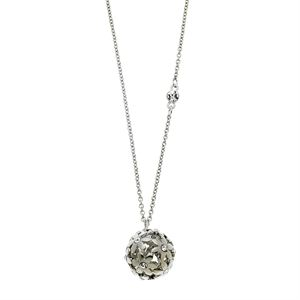 Flower Ball Necklace - Silver GJ-288678