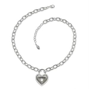 Heart Pendant Necklace - Silver GJ-210708