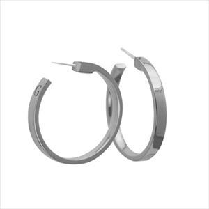 Hoop Earrings - Silver GJ-84198942