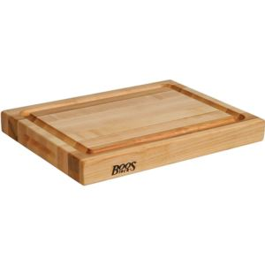 Maple Reversible Cutting Board with Groove, 20'' x 15'' x 2.25'' BOOS-RA02-GRV