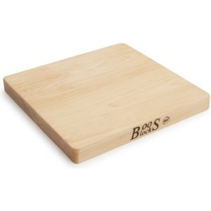 Maple Reversible Cutting Board, 10'' x 10'' x 1'' BOOS-215