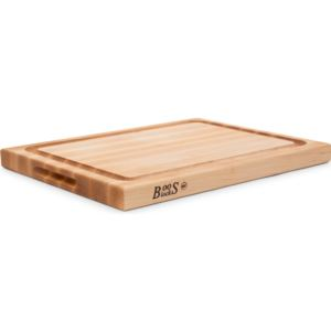 Maple Reversible Cutting Board with Groove, 20'' x 15'' x 1.5'' CB1054-1M2015150