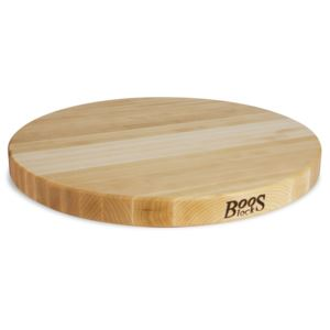 Maple Round Reversible Cutting Board, 18'' x 1.5'' BOOS-R18
