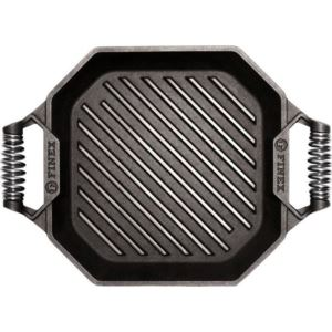 "12"" Cast Iron Grill Pan G12-10002"