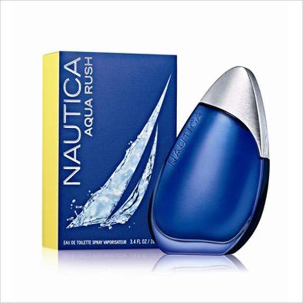 Aqua Rush Cologne for Men, 3.4 OZ EDT Spray NC-AR34