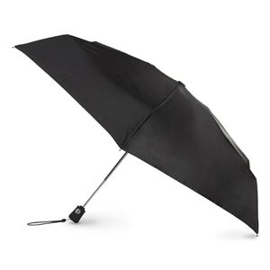 Travel Auto Open/Close Umbrella - Black 7109-BLK