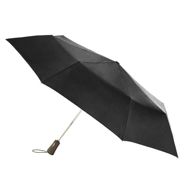 TITAN Super Strong Large Folding Umbrella - Black 7550-BLK