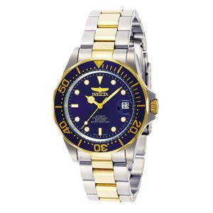 Men's Pro Diver Automatic 3 Hand Blue Dial Watch INV-8928