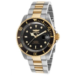 Men's Pro Diver Automatic 3 Hand Black Dial Watch INV-8927OB