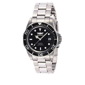 Men's Pro Diver Automatic 3 Hand Black Dial Watch INV-8926