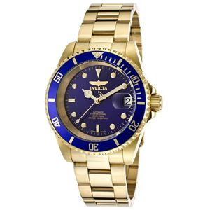 Men's Pro Diver Automatic 3 Hand Blue Dial Watch INV-8930OB