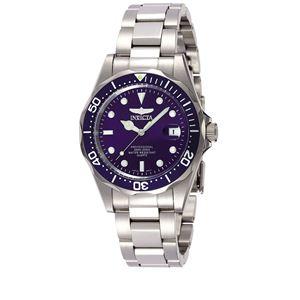 Men's Pro Diver Quartz 3 Hand Blue Dial Watch INV-9204