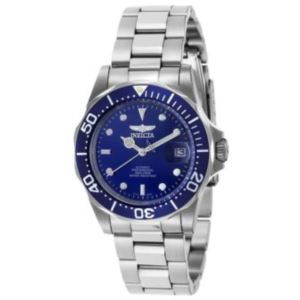 Men's Pro Diver Automatic 3 Hand Blue Dial Watch INV-9094