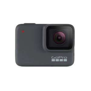 GoPro HERO7 Silver - Waterproof Digital Action Camera with Touch Screen 4K HD Video 10MP Photos CHDHC-601
