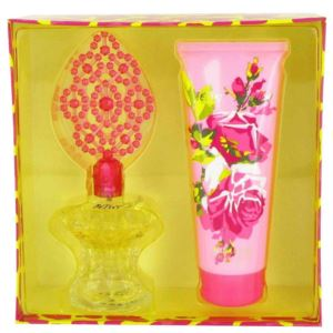 Gift Set - 3.4 oz Eau De Parfum Spray and 6.7 oz Body Lotion BJ-SET-1