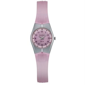Women's Sport Pink and Silver-Tone Easy to Read Watch 25-6355PNK