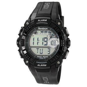Men's Chronograph Black Digital Sport Watch 40-8209BLK