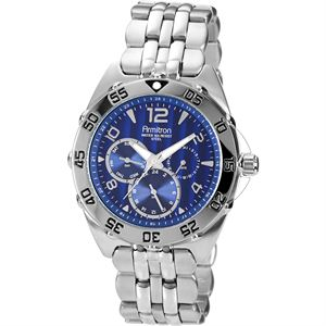 Men's Stainless-Steel Multi-Function Sport Watch 20-4664BLSV