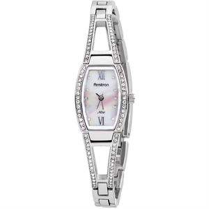 Women's NOW Swarovski Crystal Accented Watch 75-3531MPSV