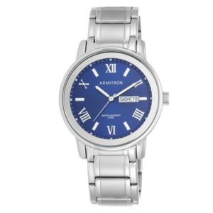 Men's Bracelet Watch - Silver/Blue 20-4935BLSV