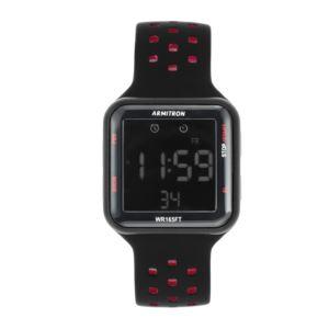 Unisex Sport Digital Watch - Black/Red 40-8417BRD